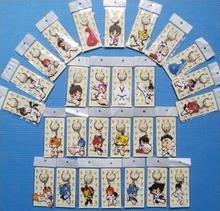 50 قطعة/الوحدة) بالجملة سلاسل المفاتيح لوازم التايكوندو الكرتون الرياضة هدايا للأطفال
