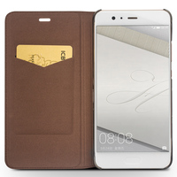 QIALINO Fashion Genuine Leather Flip Case For Huawei Ascend P9 Luxury NEW Cases For Huawei Ascend