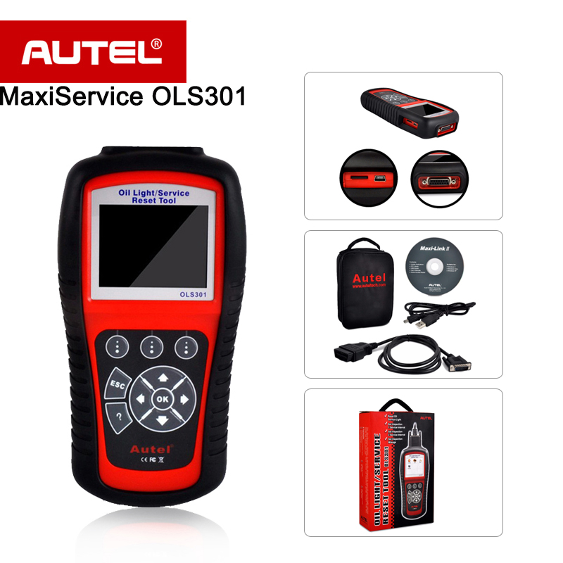 autel maxiservice ols301 oil light service reset tool auto scanner in code readers scan tools. Black Bedroom Furniture Sets. Home Design Ideas