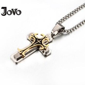 69c26cf54e9f Nueva moda hombres colgantes collares Cadena de acero inoxidable Collar  para hombre personalizar decorativo joyería Bisuteria Mujer