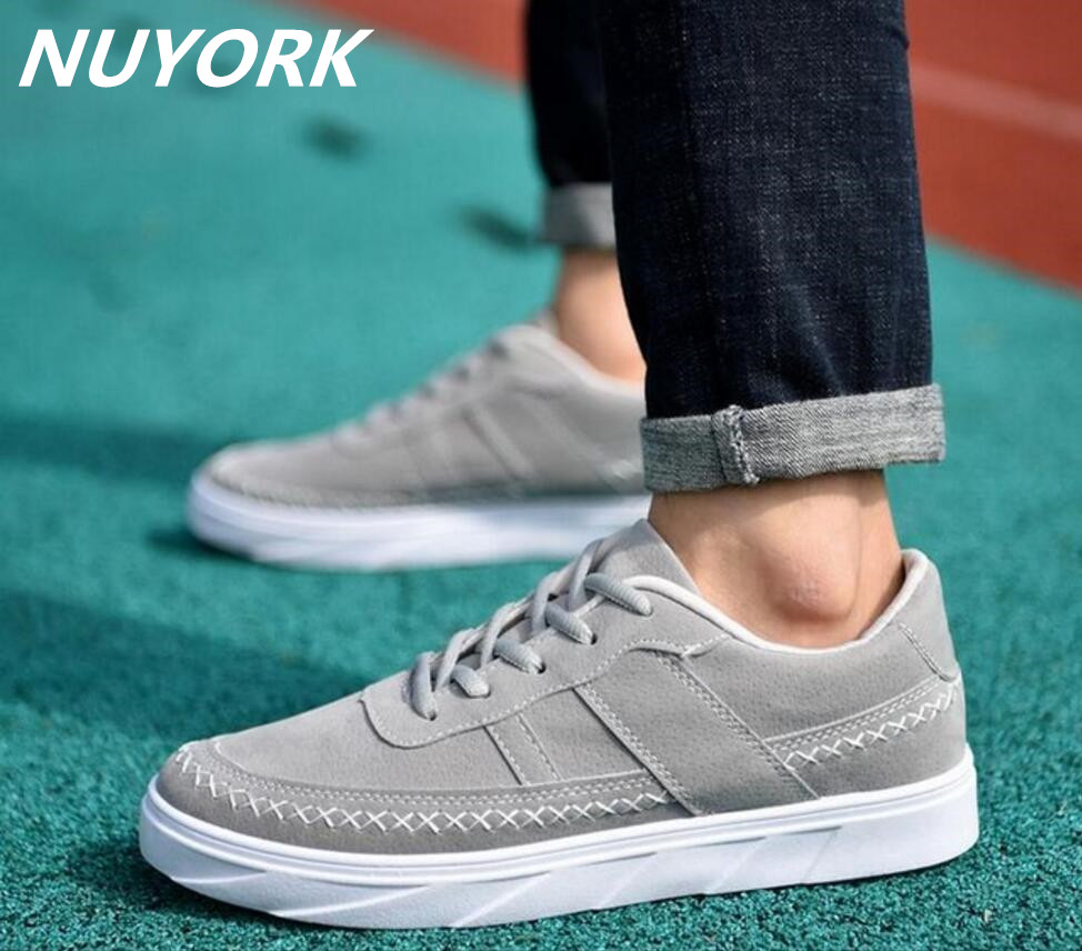 New listing hot sales Spring and Autumn Breathable sports shoes Men canvas running shoes W029