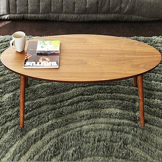 Small Apartment Living Room Sofa Side Wood Furniture Coffee Table Rubber Imported Anese Folding Teasideend