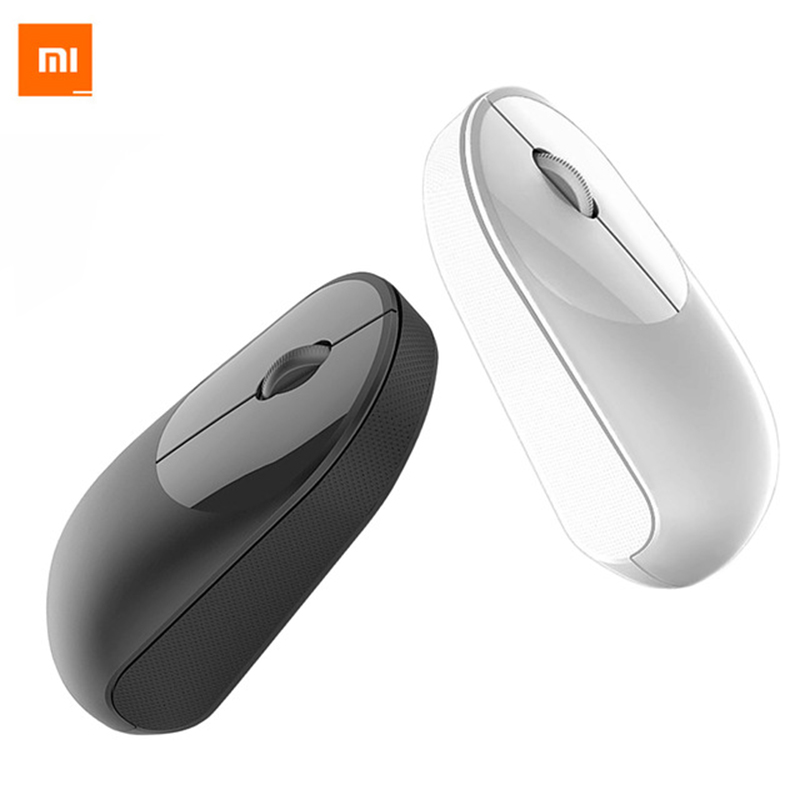 Original Xiaomi Wireless Mouse Youth Edition 1200dpi 2.4GHz Optical Mouse Mini Portable Office Gaming Newest Xiaom Mi Mouse mi portable mouse gold