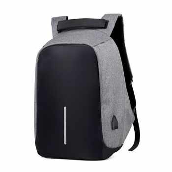 SXME Laptop Backpack USB Charging Anti Theft Backpack Men Travel Backpack Waterproof School Bag Male Mochila