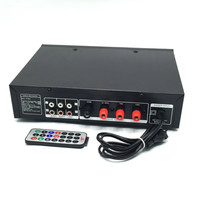 Power Amplifier Fixed Resistance Constant Pressure Public Horn Voice Column Support Usb Sd With Power Supply