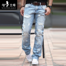 Hot Sale 2017 New Arrival!Straight Jeans Men,Large Size,Famous Brand,Fashion Denim Jeans,Designer Jeans,Free Shipping