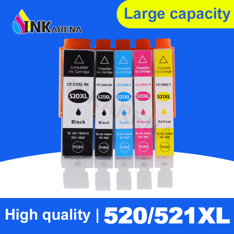PGI 520 521 PGI-520 CLI-521 <font><b>Ink</b></font> <font><b>Cartridge</b></font> For <font><b>Canon</b></font> Pixma MP540 MP550 MP560 MP620 <font><b>MP630</b></font> MP640 MP980 iP3600 ip4600 ip4700 Printer image