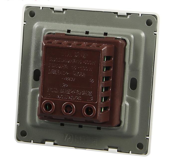 interruptor de toque de controle mais branco ouro lampada 06