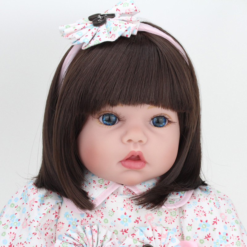 55cm silikon vinyl reborn dolls mainan model 22