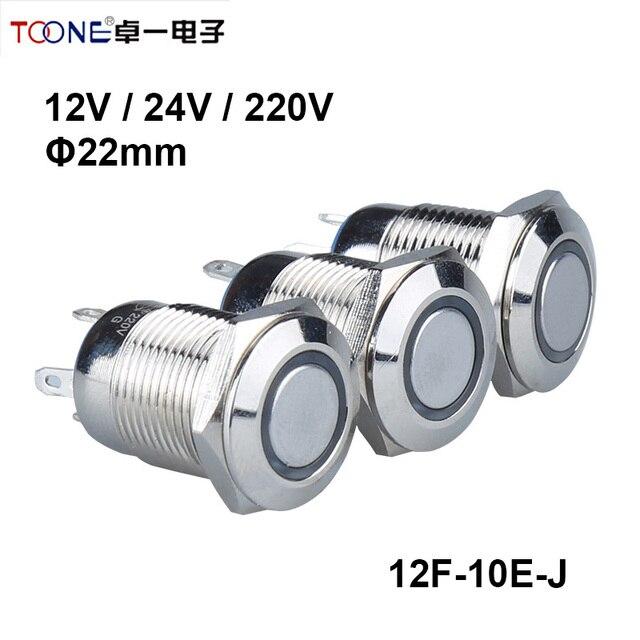 3 farben Auto Computer Geräte DIY 12mm 12 V Angel Eye Aluminum LED ...