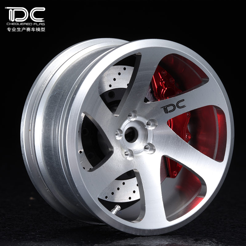4 шт. 1/10 0,06 металлические колеса смещение + 6/+ 9 серебро Ep 1:10 Rc дрейфа автомобили на дороге rwd Awd