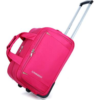 Men Trolley Wheeled Bags  Women Travel Luggage Bag Oxford Suitcase Travel Rolling Case On Wheel Business  Travel Rolling Bags