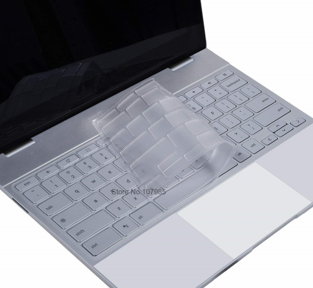 """Для Google Pixelbook 12,3 """"сенсорный экран Chromebook 2017 чехол для клавиатуры ультра тонкий прозрачный ТПУ Защита для клавиатуры ноутбука кожаный чехол"""