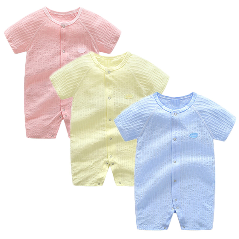 Baby Rompers Summer Baby Boy Clothes Cotton Baby Girl Clothing Roupas Bebe Infant Baby Jumpsuits Newborn Clothes Kids Costume baby boys rompers infant jumpsuits mickey baby clothes summer short sleeve cotton kids overalls newborn baby girls clothing
