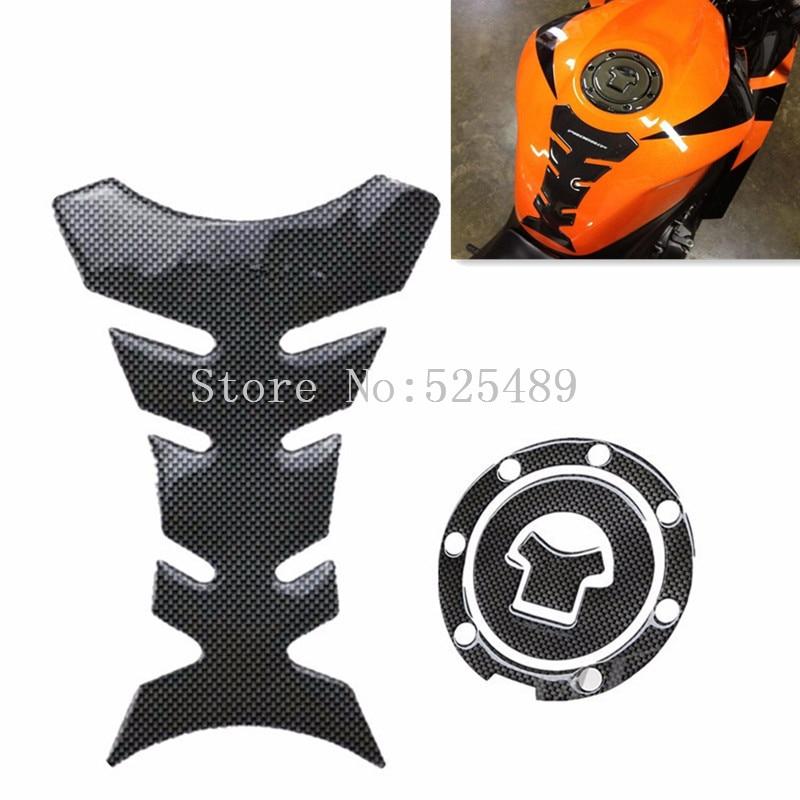 Motorfiets Decoratie Brandstoftank Pad Decals Gas Cap Pad Cover - Motoraccessoires en onderdelen