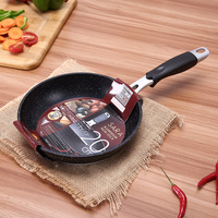 NEW 20cm Non Stick Cookware Stone Layer Frying Pan Saucepan Small Fried Eggs Pot General Use