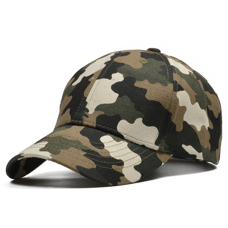 [NORTHWOOD] 8 Colors Brand Camouflage Baseball Cap Men Outdoor Jungle Tactical Cap 100% Cotton Casquette Homme Trucker Cap