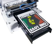 CE certification dark color t shirt printer polyester ,cloth printing machine Rip software included