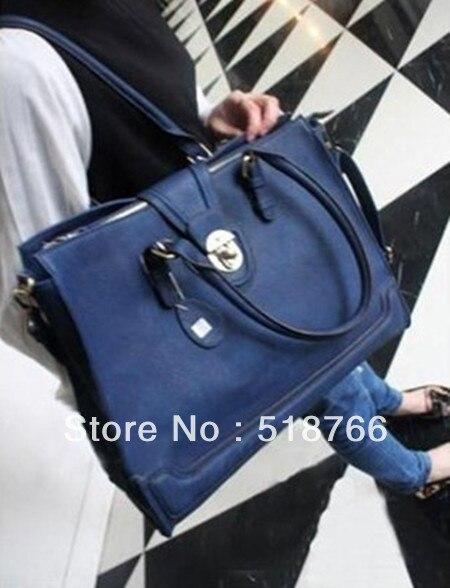 2013 Women Designer Bag New Fashion Shoulder Bag American/European Simple Vintage Leather Hanbag Free Shipping Wholesale/Retail