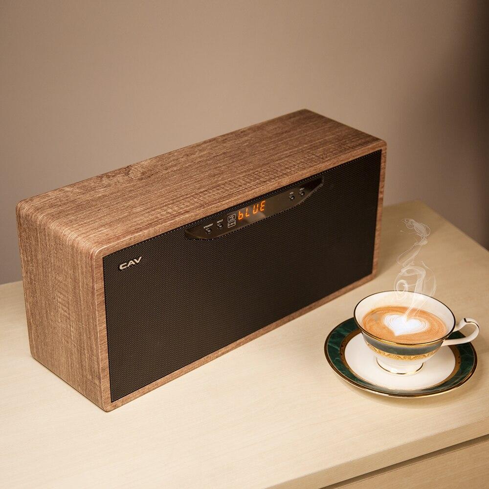 Haut parleur Bluetooth sans fil Mini haut parleur HIFI AT50 haute qualité système de boîte de son Surround 3D stéréo Mini haut parleurs intégrés - 3