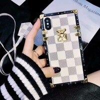 SZYHOME Phone Cases For Iphone X 6 7 8 Plus Vintage Fashion Luxury TPU Silicon Fashion