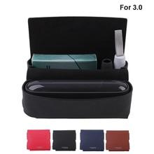 Étui en cuir pour IQOS 3.0 portefeuille pochette porte sac E Cigarette boîte étui pour Iqos 3 étui de support