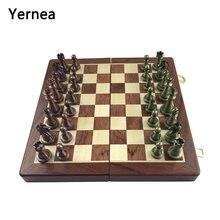Интересная шахматная игра yernea Классические шахматы искусственные
