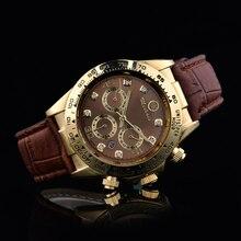 Venta caliente 2016 Automático Fecha Hombres Mujeres Reloj de la Marca Top Marca de moda de Lujo Del Deporte de la Correa de Cuarzo Reloj de Hombres Reloj de Envío gratis