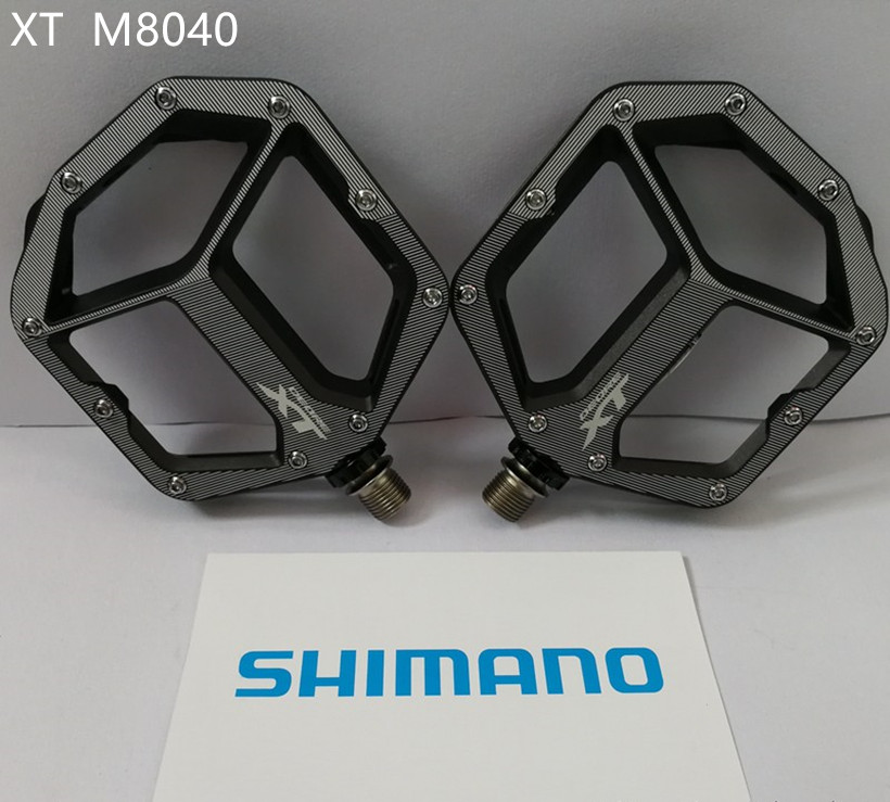 Shimano PD M8040 Deore XT Flat Pedals Trail Enduro Off Road MTB mountain Bike bicycle pedal