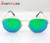 NEW Высокое Качество Шестигранные Солнцезащитные Очки Для Женщины Мужчина Бренд Дизайнер песка Gafas Óculos De Sol женщина для С Тонкой Дело Box 51 мм