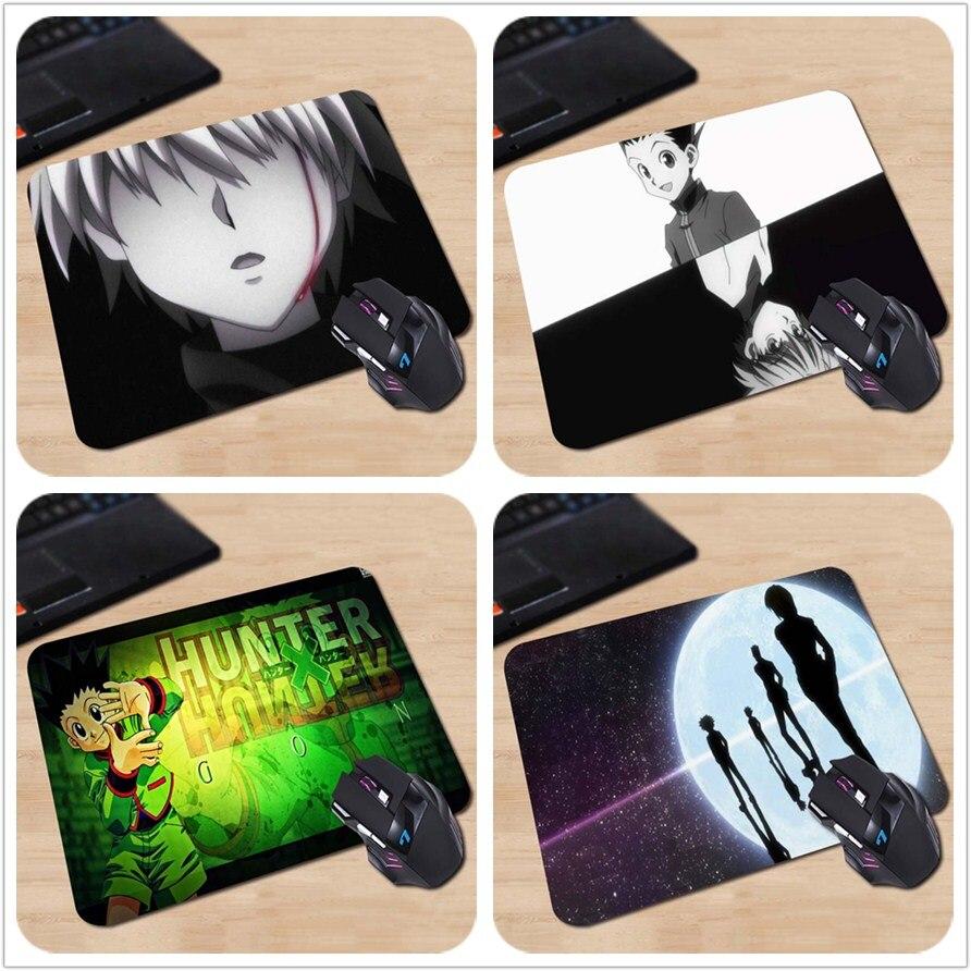 Babaite Anime Hunter x Hunter Kirua Zoldyck Gon Freecss Personnalisé Tapis de Souris Frais Durable Ordinateur Faire Votre Propre Merveilleux