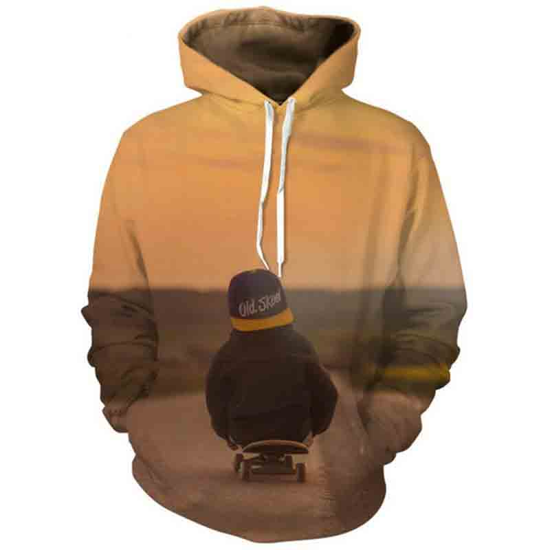 Hoodies & Sweatshirts Generous Jumeast Men/women Hoodies Skateboard Kid Sweatshirts 3d Print Hooded Sweats Tops Streetwear Pullover