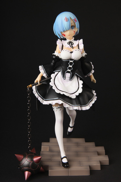 Re:Zero kara Hajimeru Isekai Seikatsu Rem Anime Action Figure PVC New Collection figures toys Collection for Christmas gift