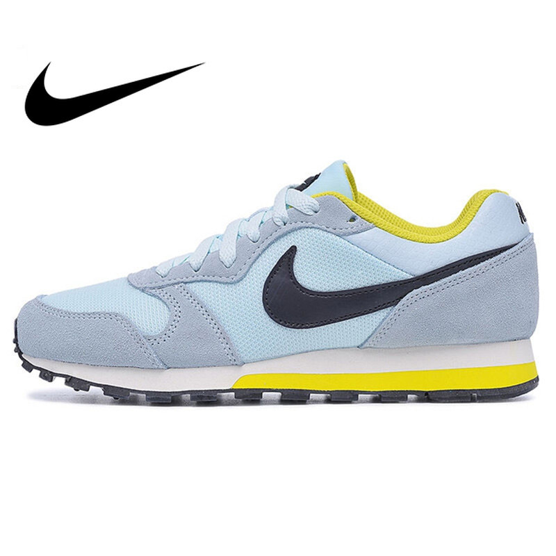 Original authentic NIKE LOW TOP LUNAR ladies running shoes fashion comfortable outdoor sports walking classic 749869 403