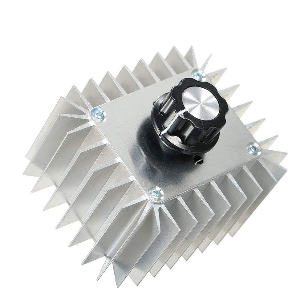 AC 220 V 5000 W Controlador de Velocidade DO Motor SCR de Alta Potência Regulador de Tensão Eletrônico Escurecimento Thermoregulation Attemperation Módulo