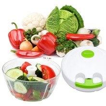 Kochen Werkzeuge Küche Zubehör Tragbare Essen Chopper Obst Gemüsehobel Hacken Prozessor Shredder R20