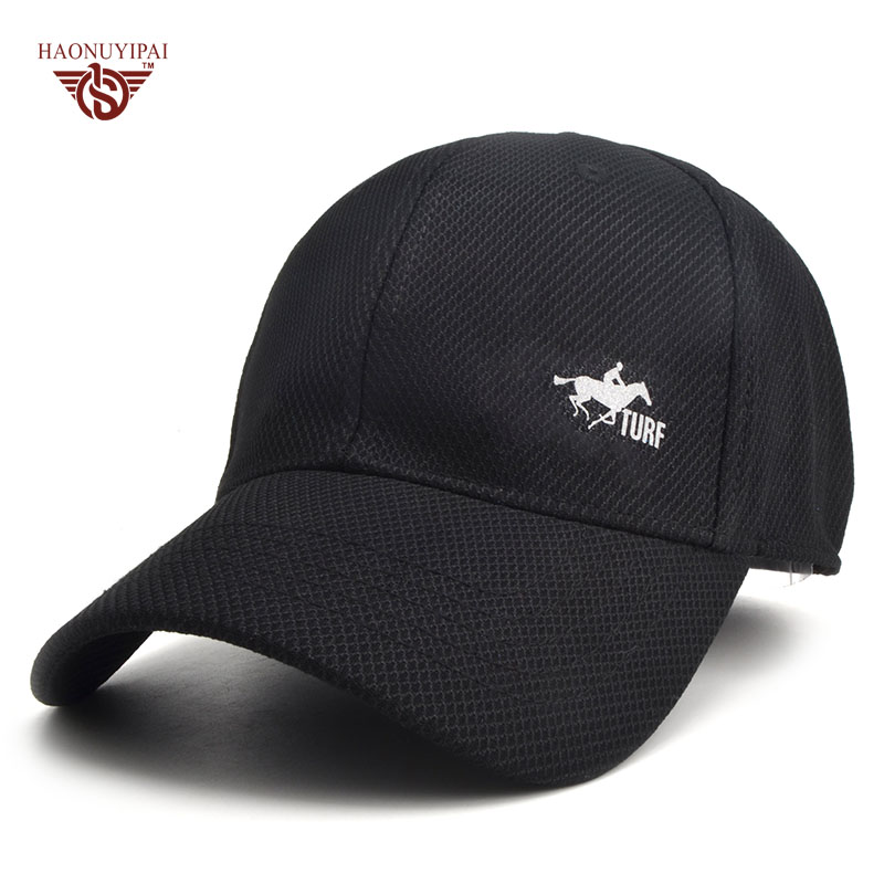 New Breathable Cool Brand Fashion Baseball Cap Sports Snapback Outdoor Solid Hats Bone For Men Women Accept Logo Customization 2017 new solid color baseball cap polo hats for men or women autumn and winter outdoor bone cap hat