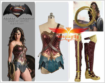 BatmanvSuperman:Dawn of Justice Wonder Woman For Adult Cosplay Costume Boots Shoes with 1.5-2m Rope - DISCOUNT ITEM  10% OFF All Category