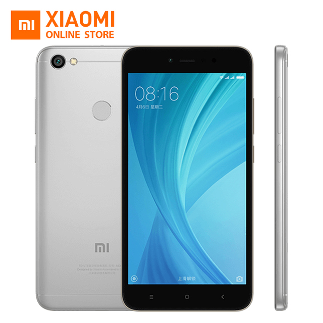 Xiaomi Redmi Note 5A 5 A 3GB RAM 32GB ROM Mobile Phone Snapdragon 435 Quad Core CPU 5.5 Inch 16.0MP Front Camera 3080mAh