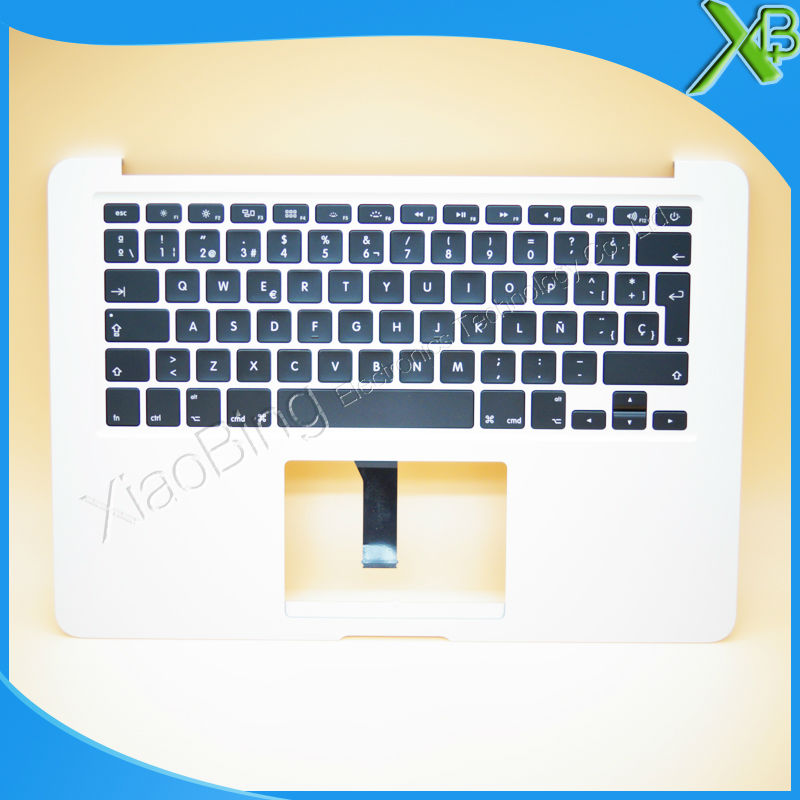 New TopCase with SP Spanish Keyboard for MacBook Air 13.3 A1466 2013-2015 years new original a1466 ru russian topcase keyboad for apple macbook air a1466 13 2013 2014 free shipping