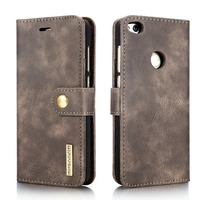 Genuine Leather Case For Huawei P8 Lite 2017 Mobile Phone Bag Stand Cover Flip Magnetic Wallet