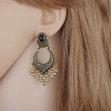 Fashion Dangle Ear Earrings Women Long Tassel Fringe Party Jewelry Gift New Exquisite Oorbellen Vintage Ornaments Earrings(China)