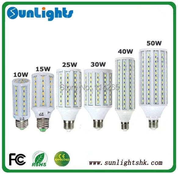 4pcs/lot 5630 5730 SMD led corn bulb E14 E27 B22 lamp 7w/10w/12w/15w/25w/30w/40w/50w LED corn light