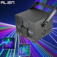 ALIEN 1W 2W DMX RGB Ilda Animation Laser Projector Scanner Professional Stage Lighting DJ Disco Bar Club Party Wedding Effect