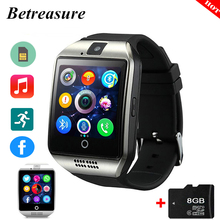 Betreasure Q18 Bluetooth Smart Watch Intelligent Clock With Pedometer Camera 32G TF SIM Card Whatsapp For