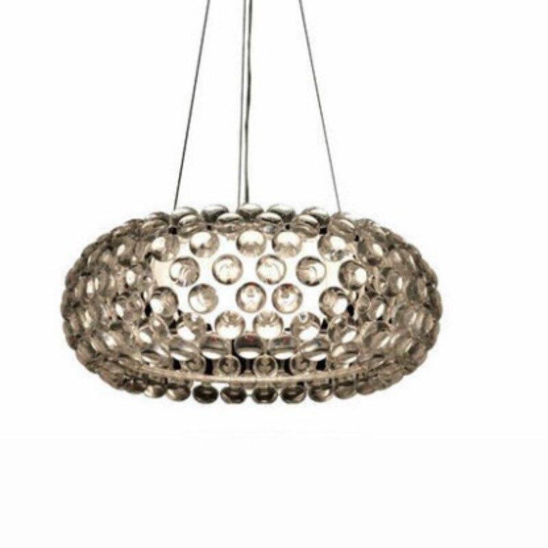 US $131.03 12% OFF|Foscarini caboche pendelleuchte für wohnzimmer esszimmer  acryl perlen glas designer lampen 35/50/65 cm 1446-in Pendelleuchten aus ...
