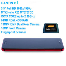SANTIN n1 4 GB RAM 64 GB ROM Android Telefon NFC OTG 5.5