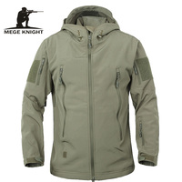 Army Camouflage Coat Military Jacket Waterproof Windbreaker Raincoat Hunting Clothes Army Jacket Men Outdoor Jackets And
