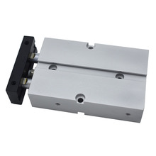 Aluminum Alloy TN Type Pneumatic Cylinder 10mm Bore 10/15/20/25/30/35/40/45/50/60/70/75/80/90/100/125/150mm Stroke Air Cylinder цена