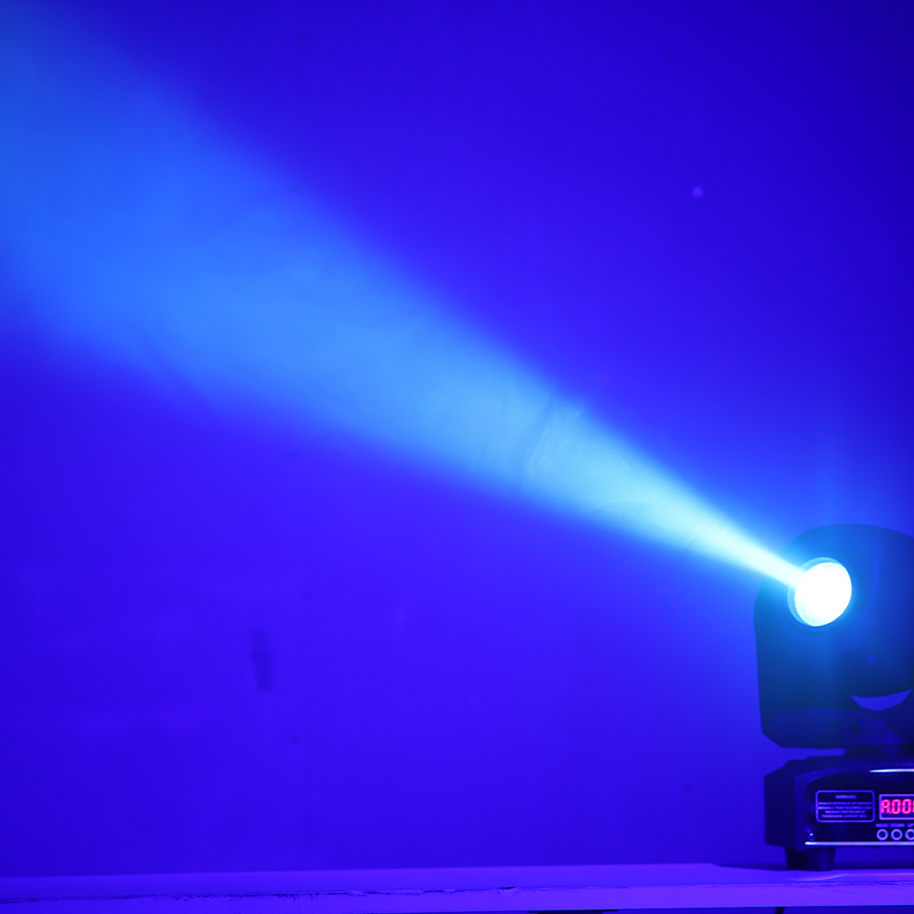 12pcs/lot mini spot moving head 30w led spot light 30w